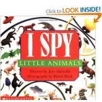 Landon's Book of the Week – I Spy Little Animals