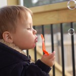 Wordless Wednesday – Blowing Bubbles Edition