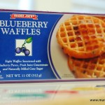 Things I love – Trader Joe's Blueberry Waffles