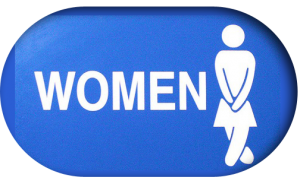 women restroom incontinence