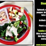 Toddler Dinner 1