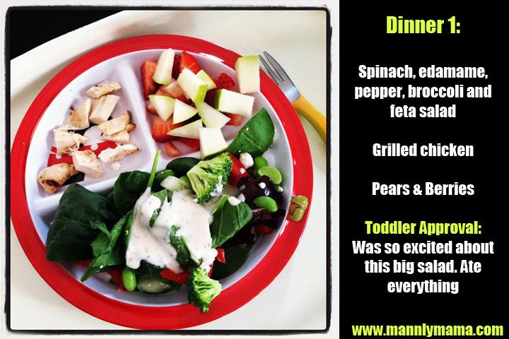 Toddler Dinner 1