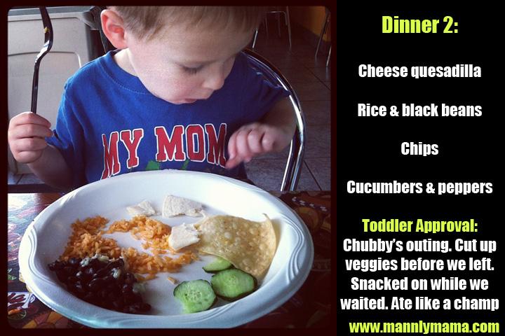 Toddler Dinner 2