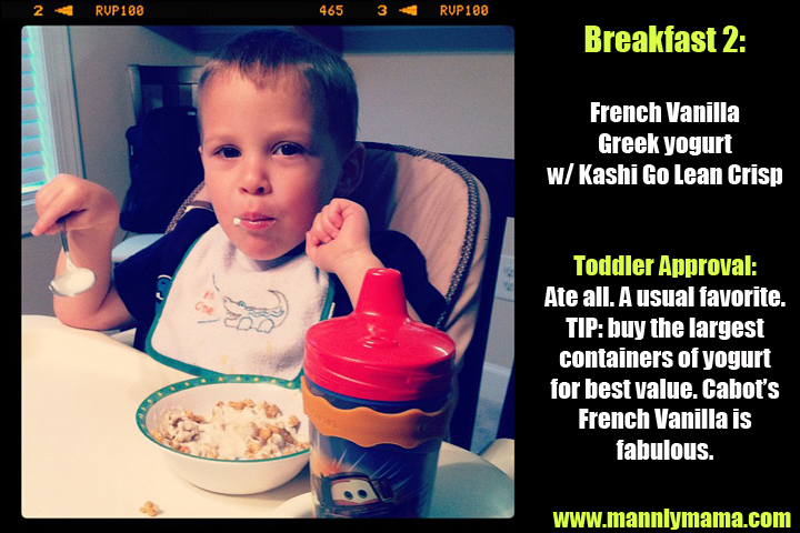 Toddler Dinner 2