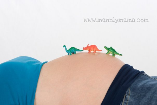 Landon Belly Dinosaurs