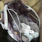 Brica Infant comfort Canopy Inside