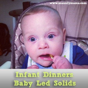 Infant Dinners Baby Led Solids