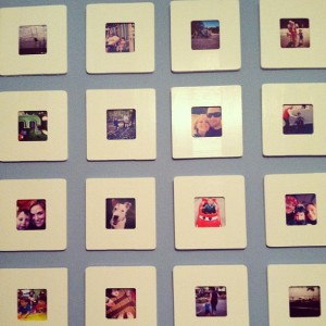 Instagram Grid Wall