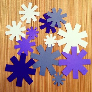 snowflakes craft a day