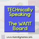 TECHnically Speaking: The Want Board