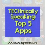 TECHnically Speaking: My Top 5 Apps