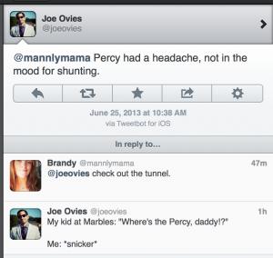 kids saying percy