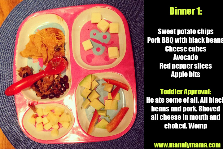 Toddler Dinners: Sample Daycare Menus | mannlymama