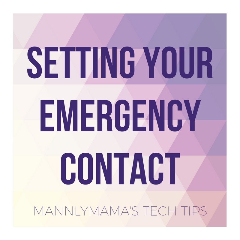 setting your emergency contact